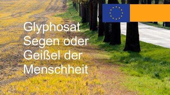 Glyphosat Monsantos deutscher Professor