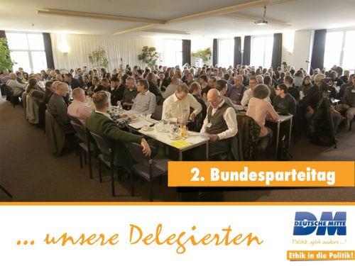 2. Bundesparteitag Deutsche Mitte Berlin Köpenick