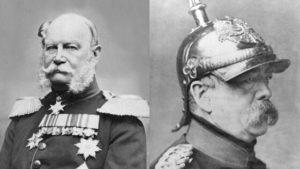 Deutschland Kaiser Wilhelm und Bismarck
