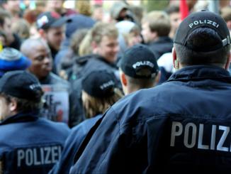 Polizei im Einsatz Polizeiaufgaben-Gesetz