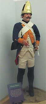 Hessischer Soldat in Uniform