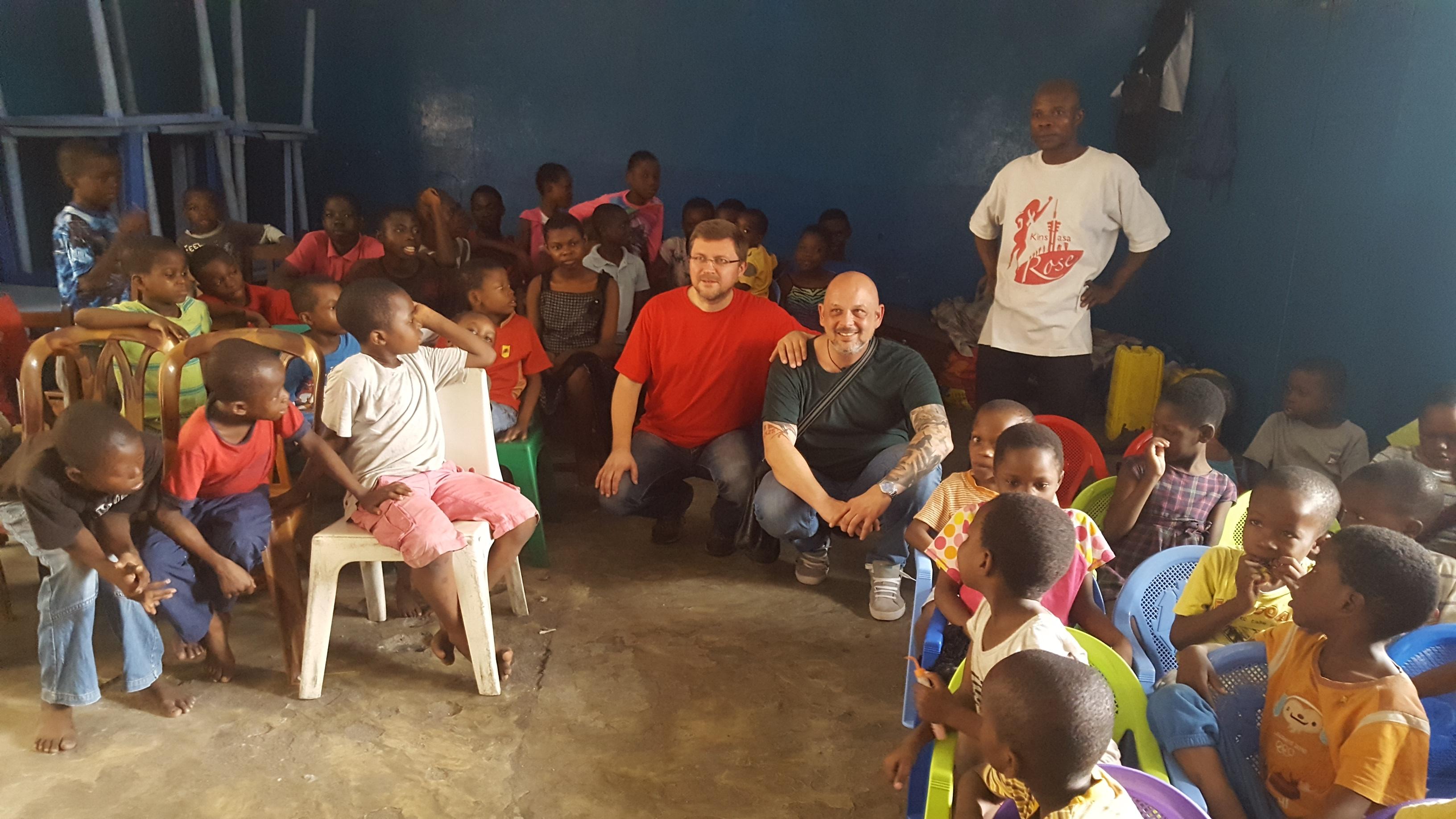 Kinderheim im Kongo