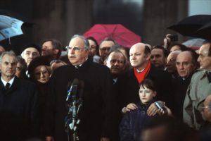 Helmut Kohl - Eröffnung des Brandenburger Tores 1989
