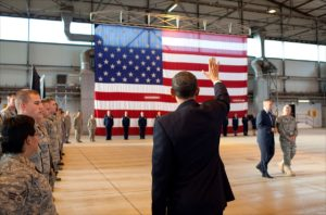 Obama in Ramstein Airbase
