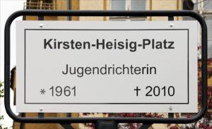 Kirsten-Heisig-Gedenktafel, Berlin Neukölln